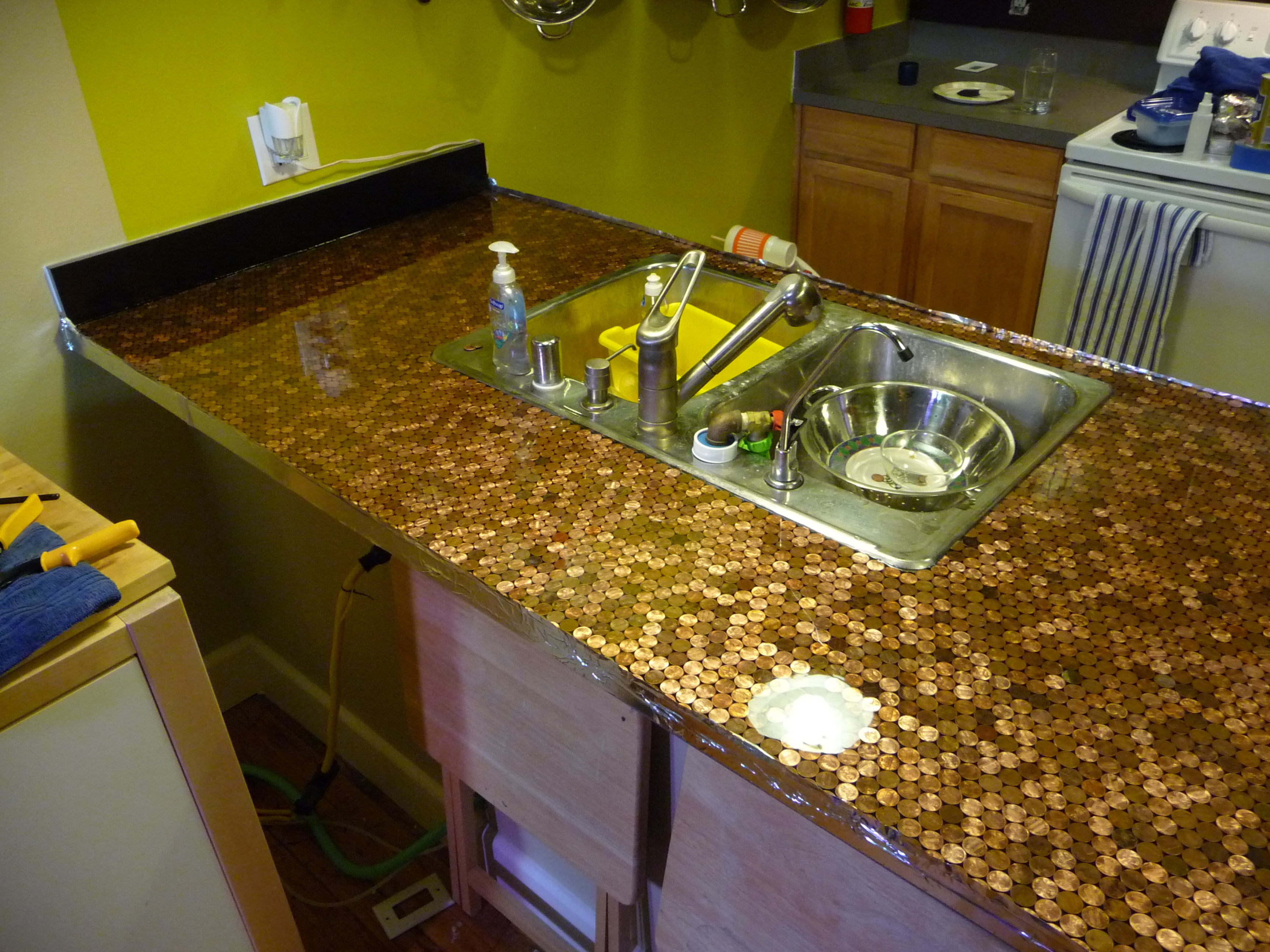 New Project: Install a Penny Countertop
