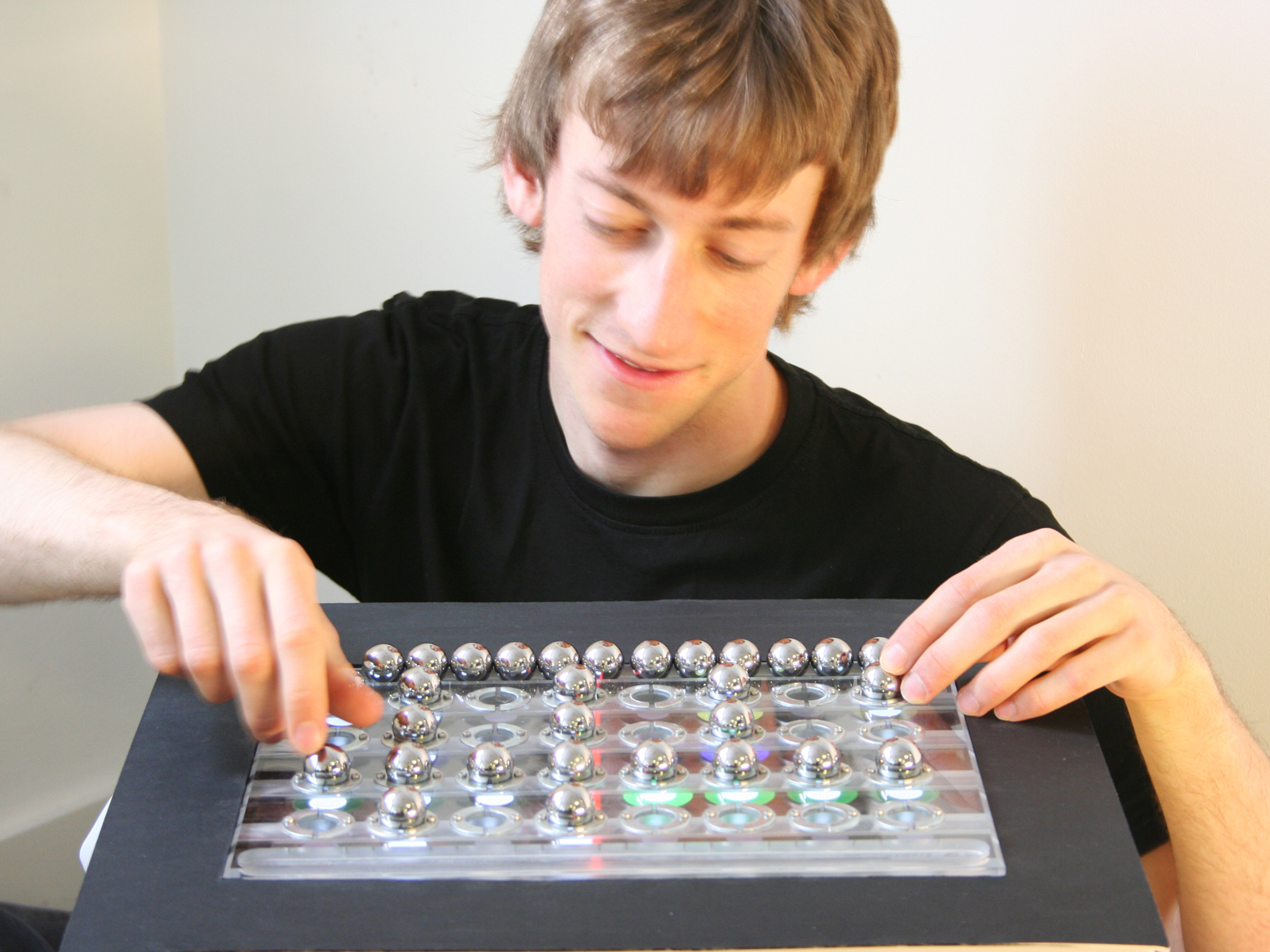 The BeatBearing Tangible Rhythm Sequencer