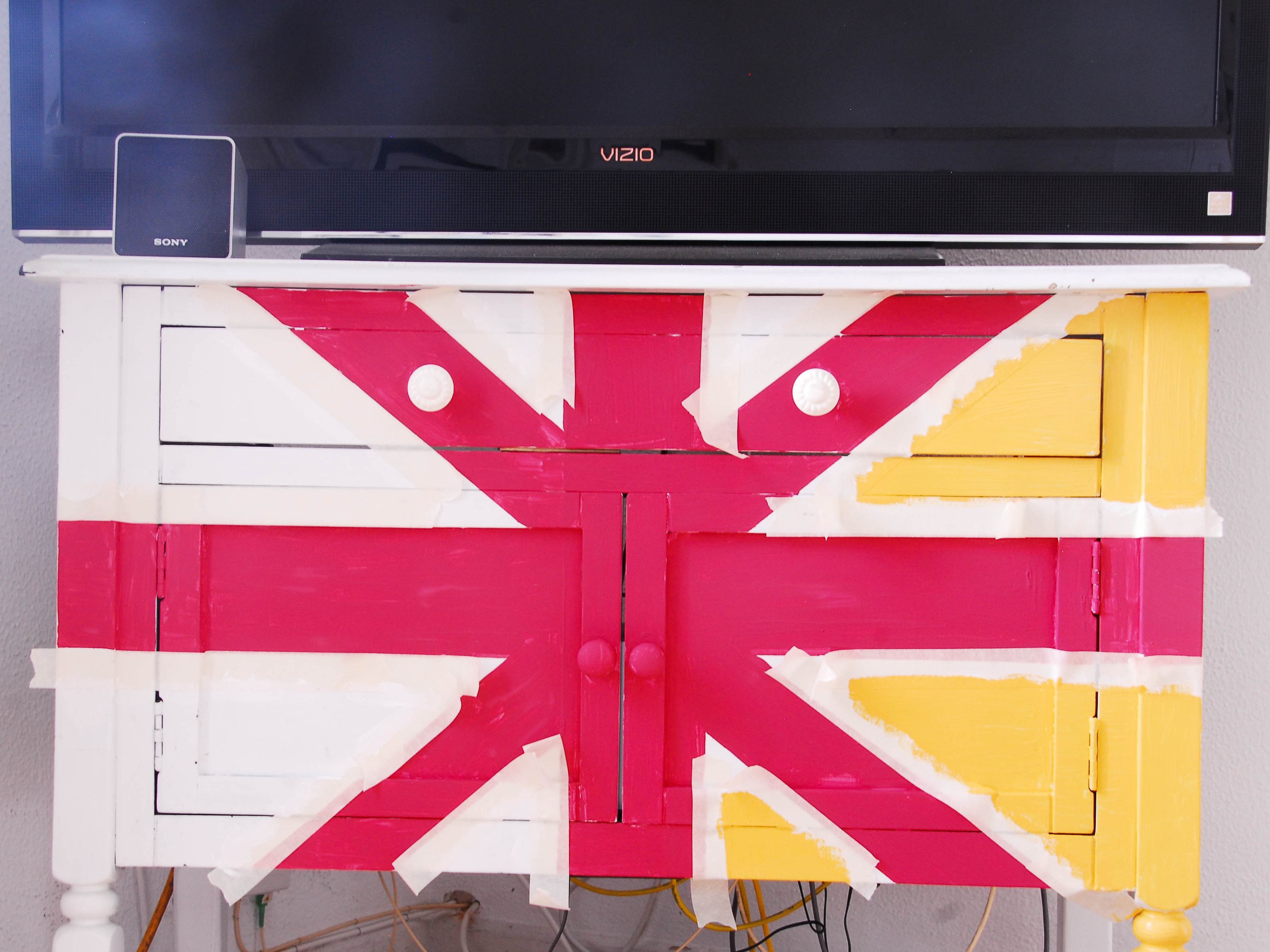 New Project: Union Jack Shelf