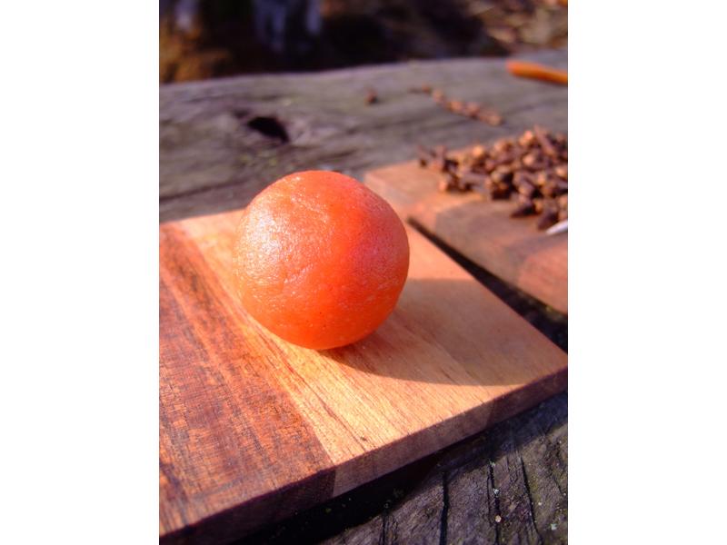 Almond Paste Pumpkins