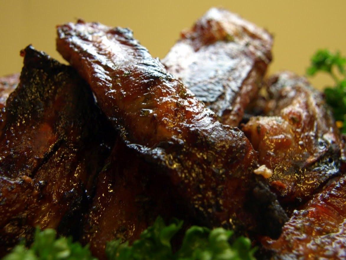 Honey Barbecue Ribs