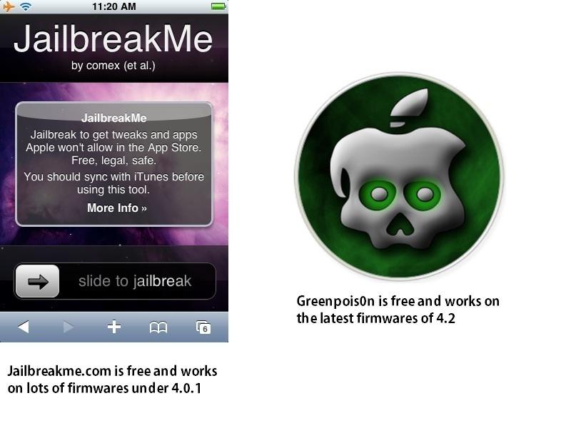 Jailbreak an iPod Touch oriPhone