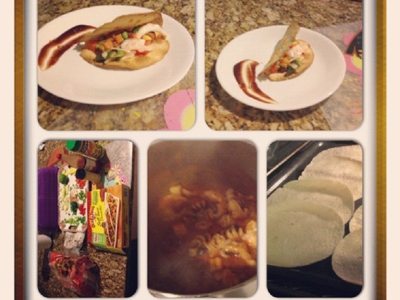 New Project: SeafoodTaco