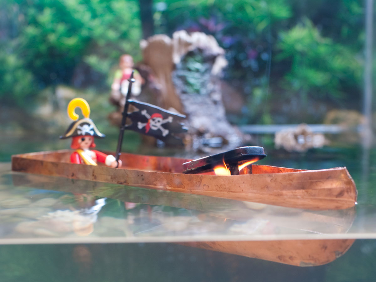 New Project: Pop-PopSteamboat