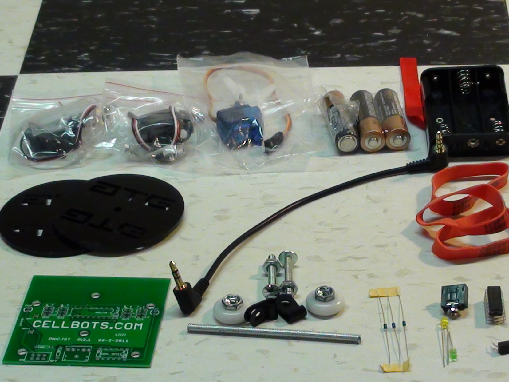 Super-Simple Audio Cellbot