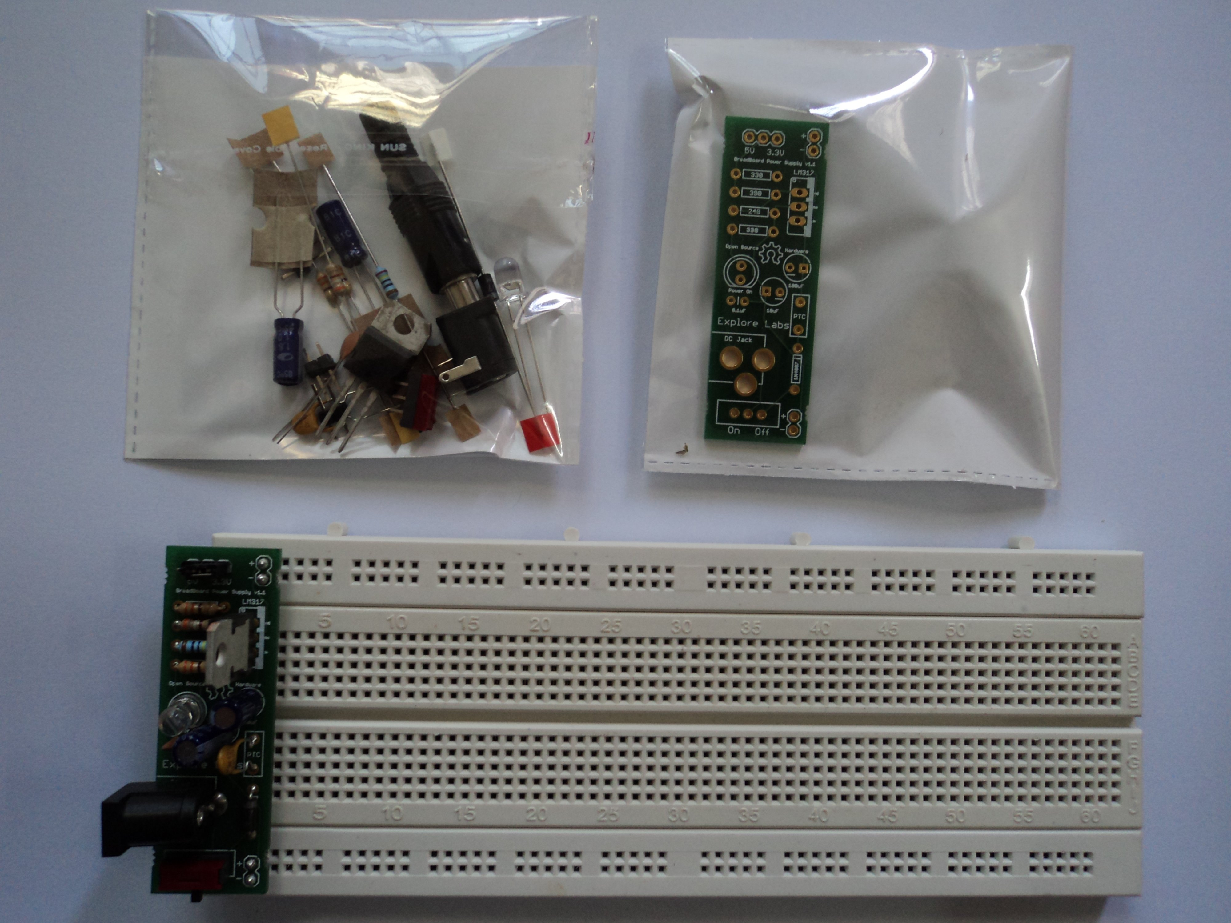 New Project: Making a BreadBoard Power Supply