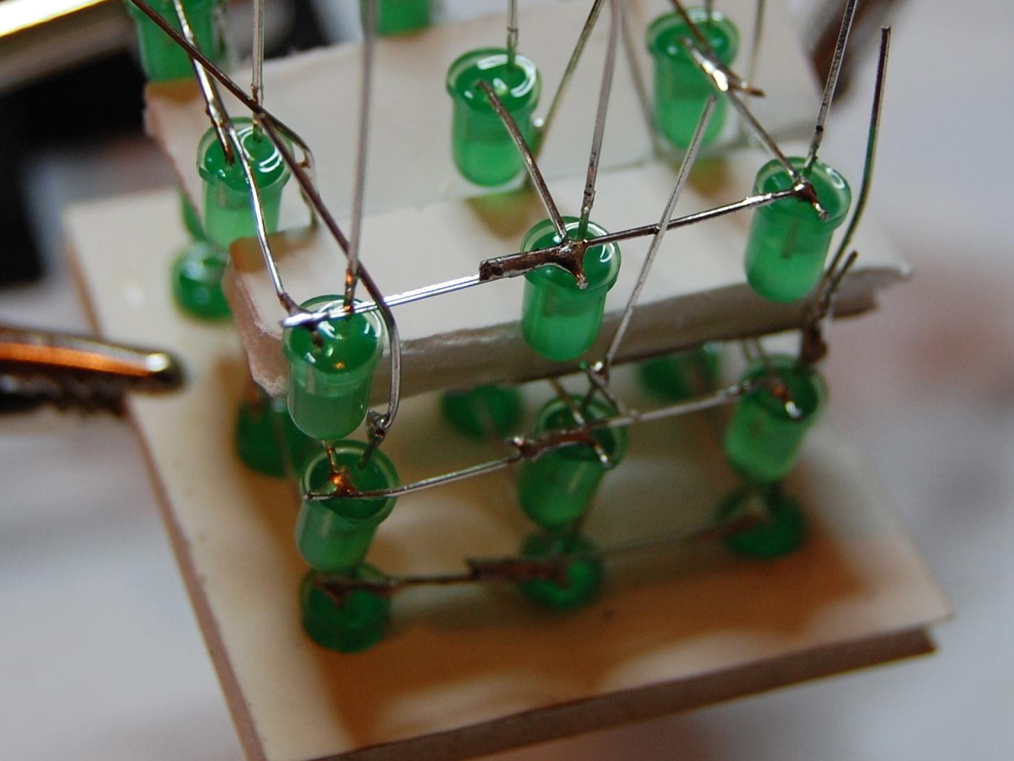 3x3x3 LED Cube ArduinoShield