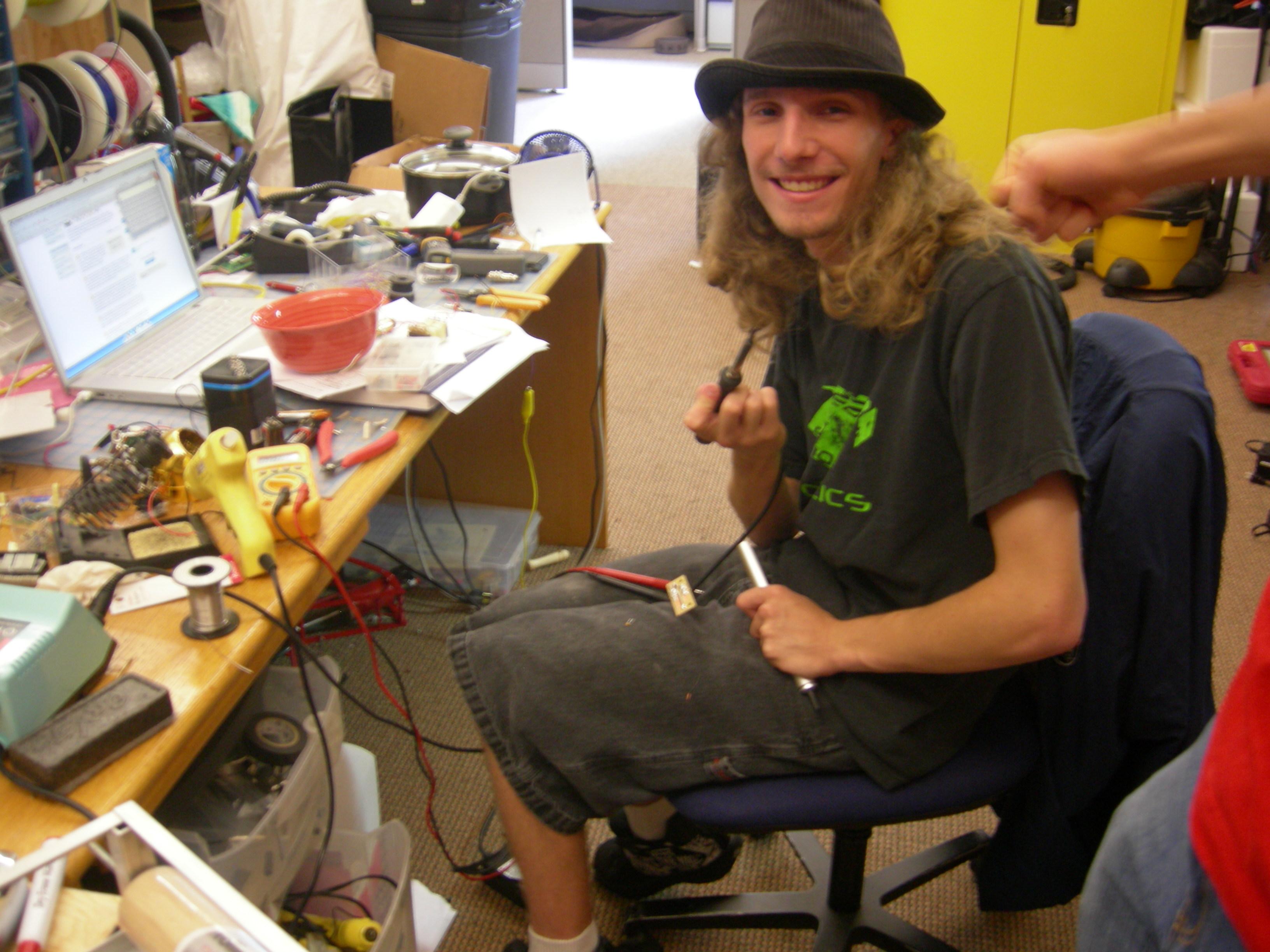 New Project: Pancake Maker -Box Of JunkContest