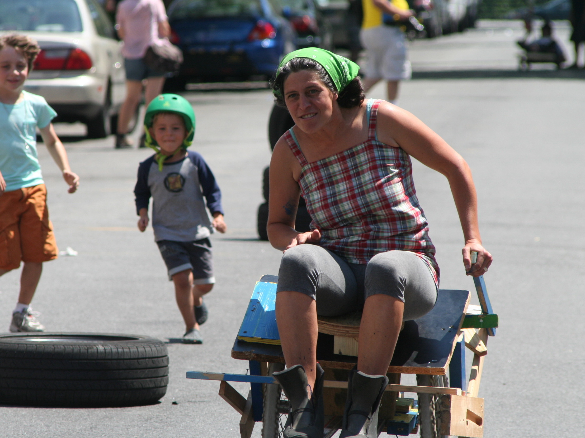 Soapbox Racer Out of FoundMaterial