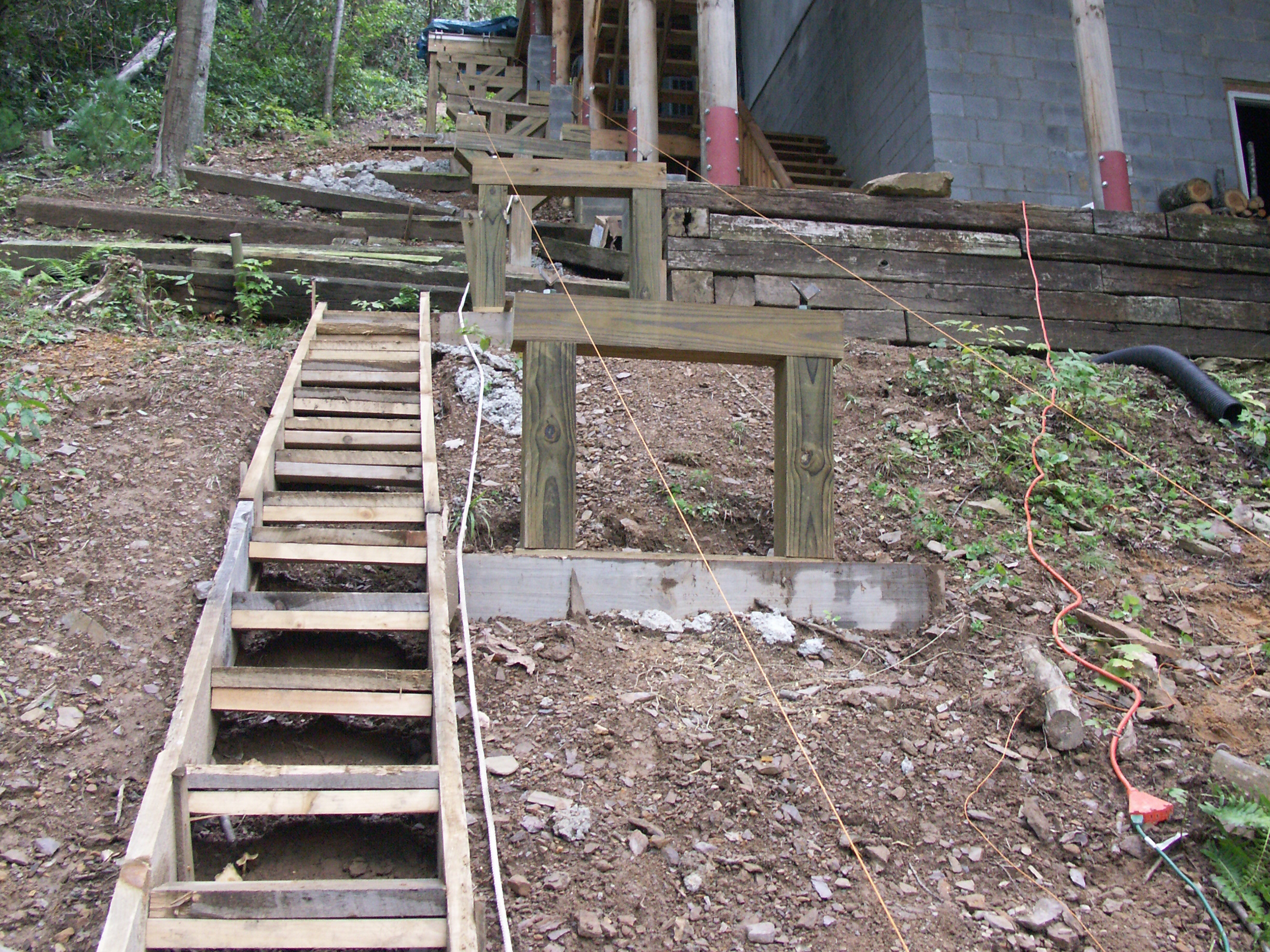 New Project: Home-Built Funicular (Motorized People-Mover System)