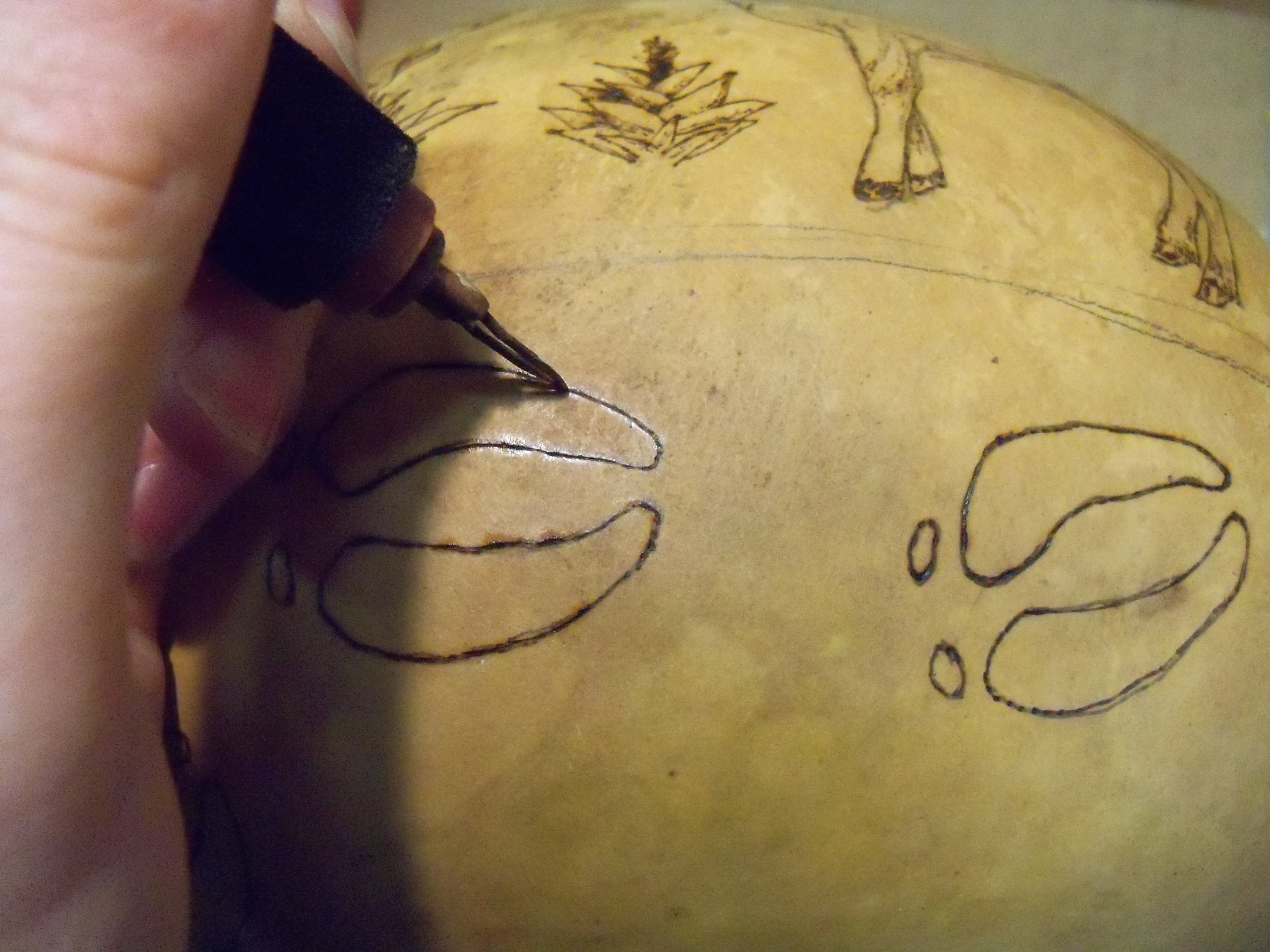 DIY Cleaning Tools for Gourd Art