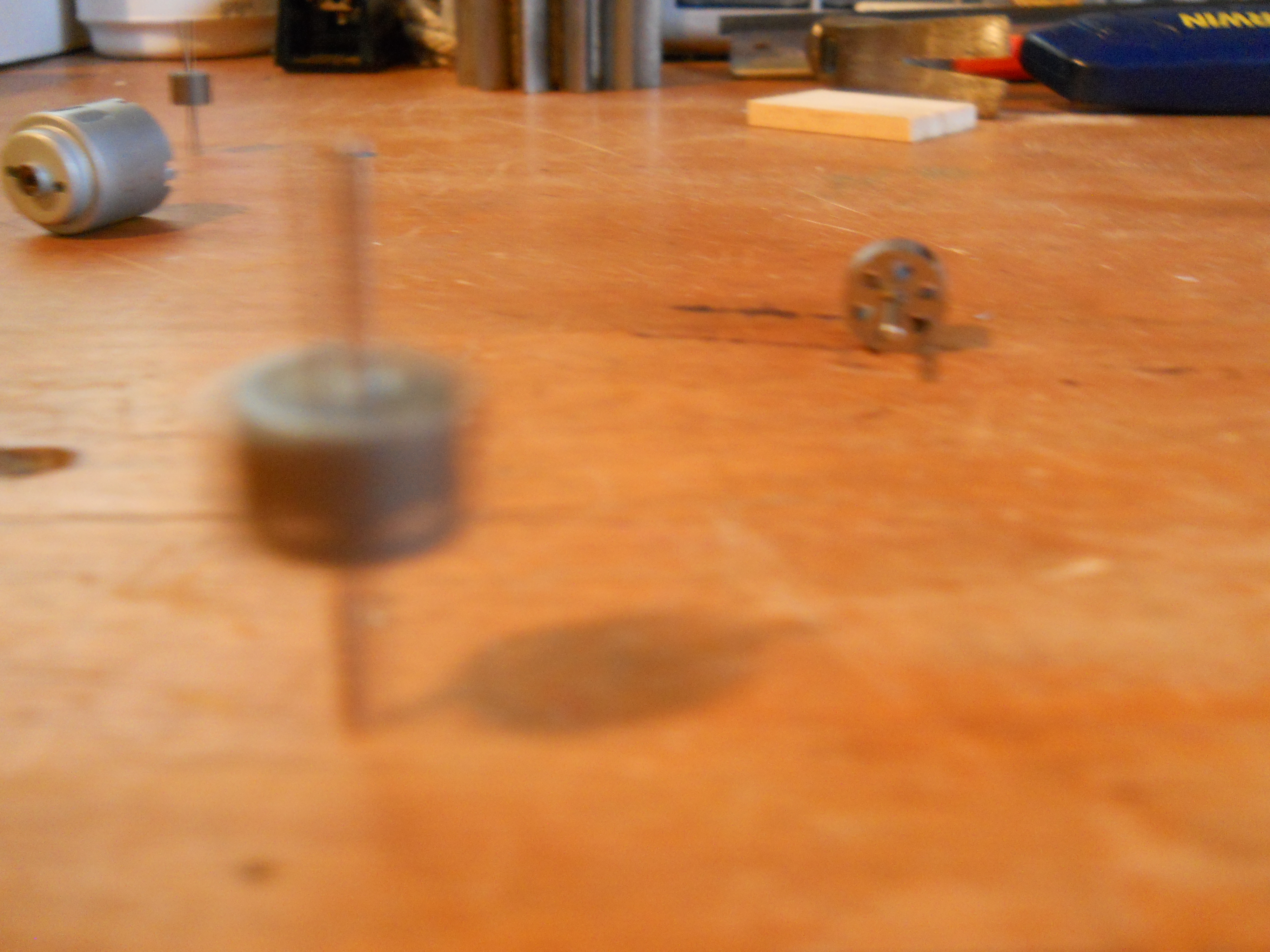 Electric Motor SpinningTop