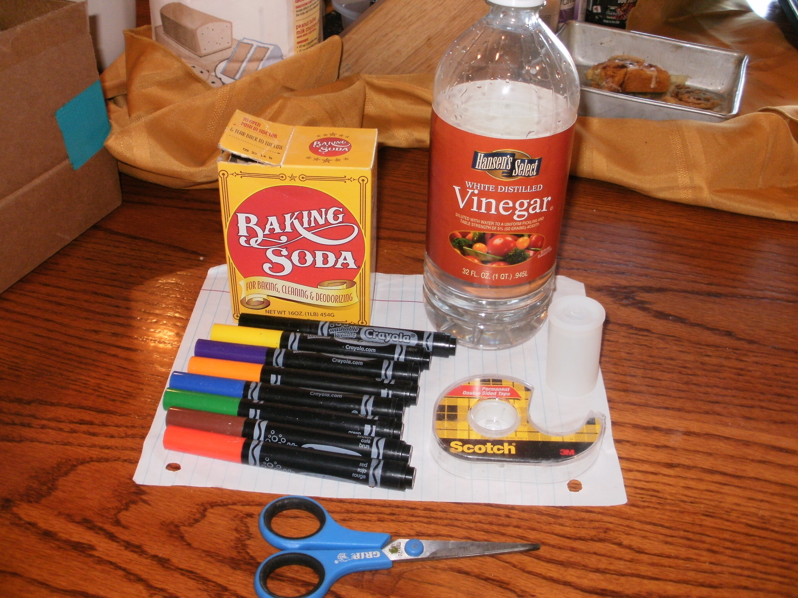 Vinegar and Baking Soda Rocket