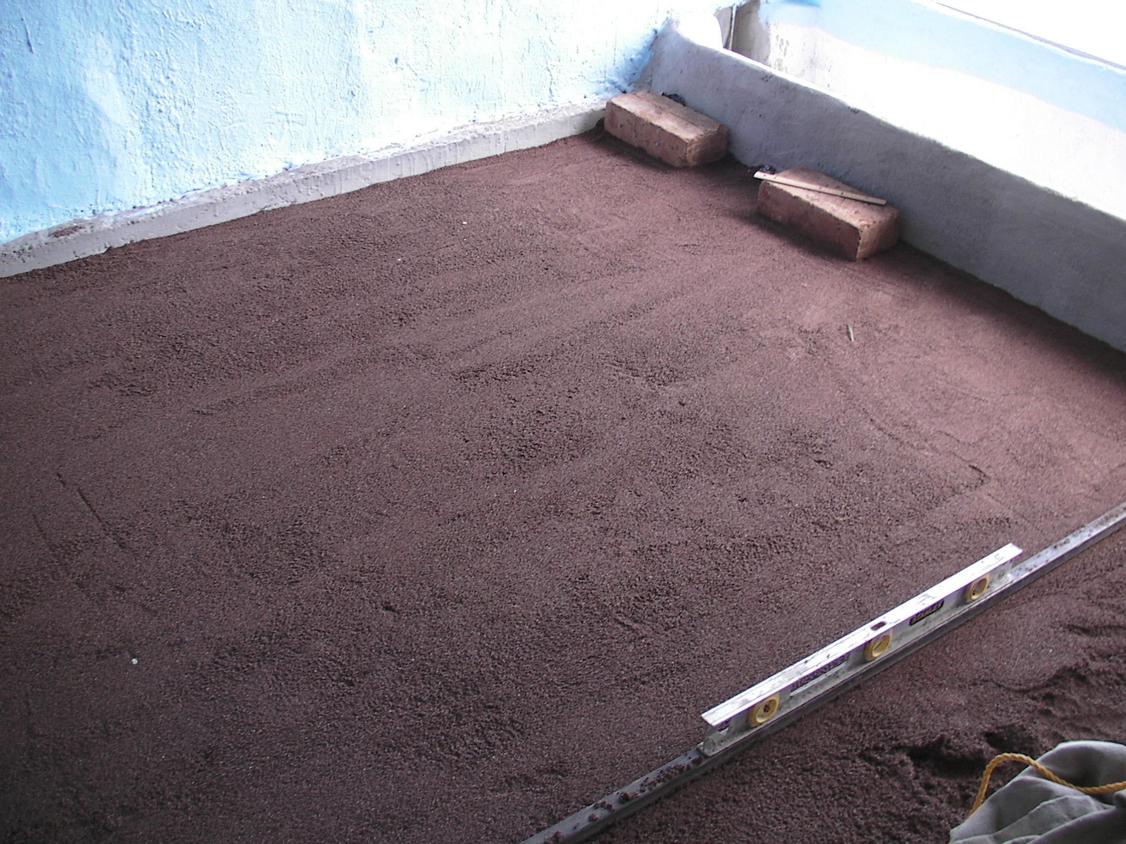 Cheap and Easy Earth BlockFloors