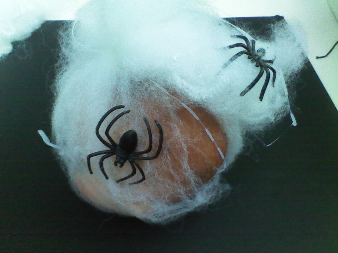 WebHeads! Create Spiderweb-Trapped Doll Heads forHalloween