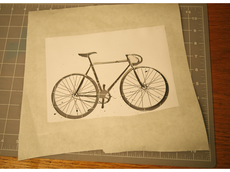 New Project: Freezer Paper Stencil