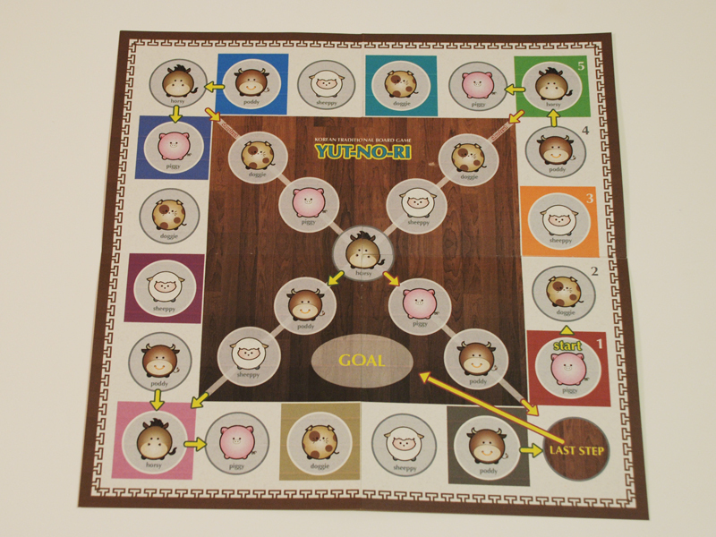 Korean Board Game, 'Yut-no-ri'