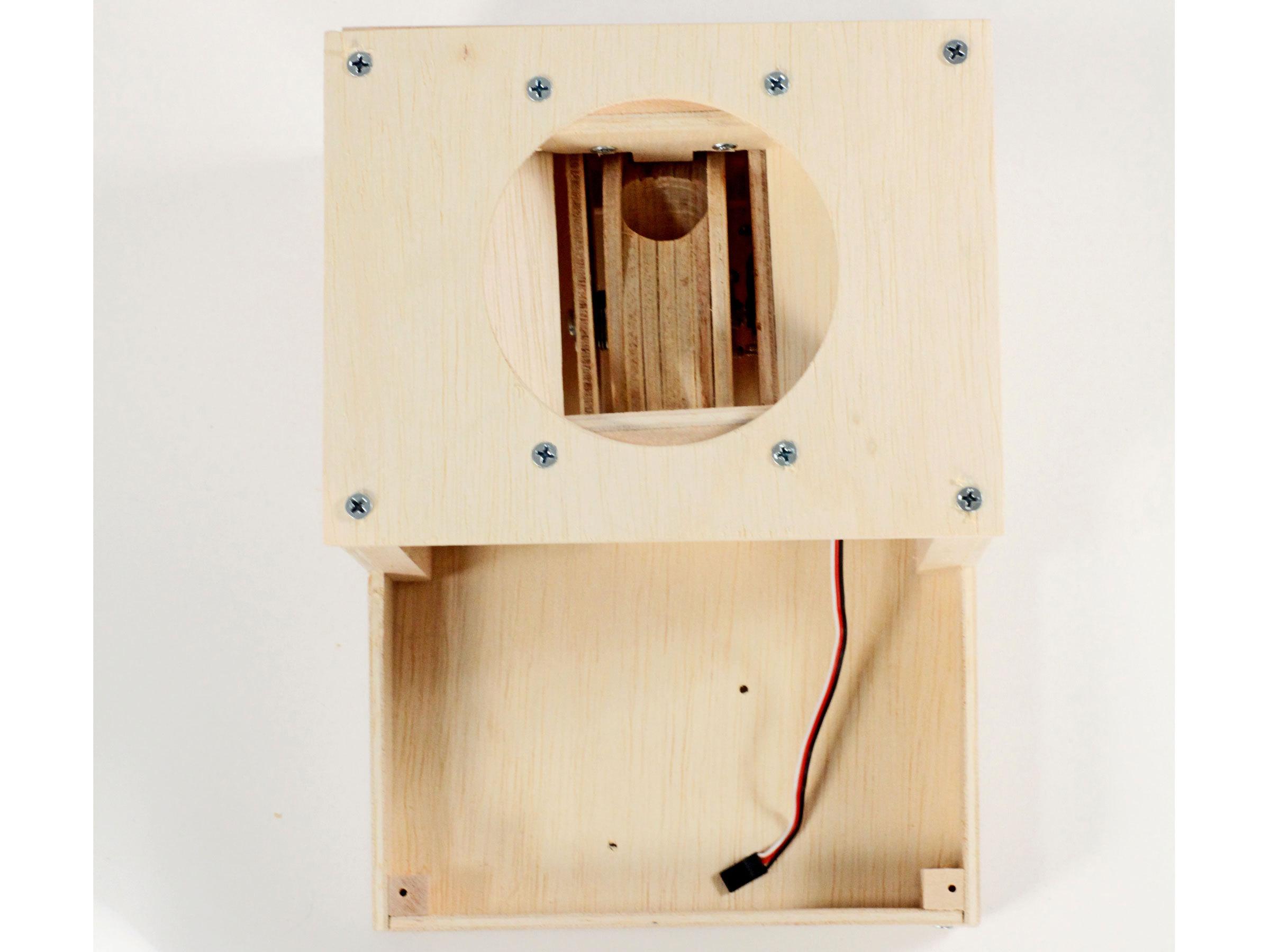 Secret-Knock Gumball Machine
