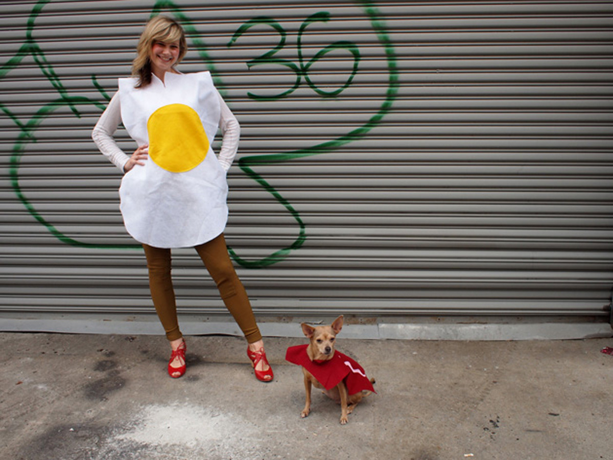 Eggs and Bacon Halloween Costume
