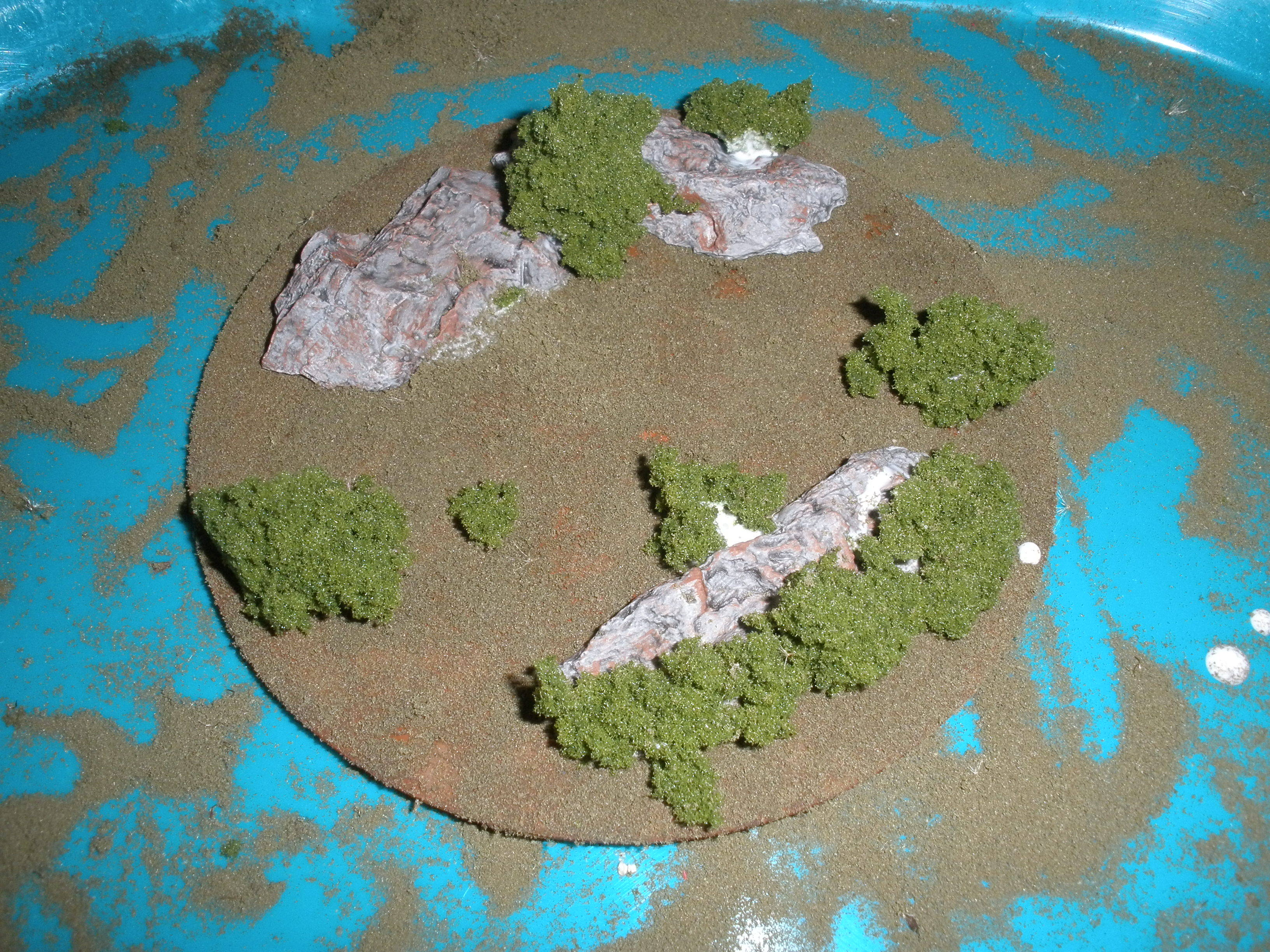 Using CDs to Create Scatter Terrain