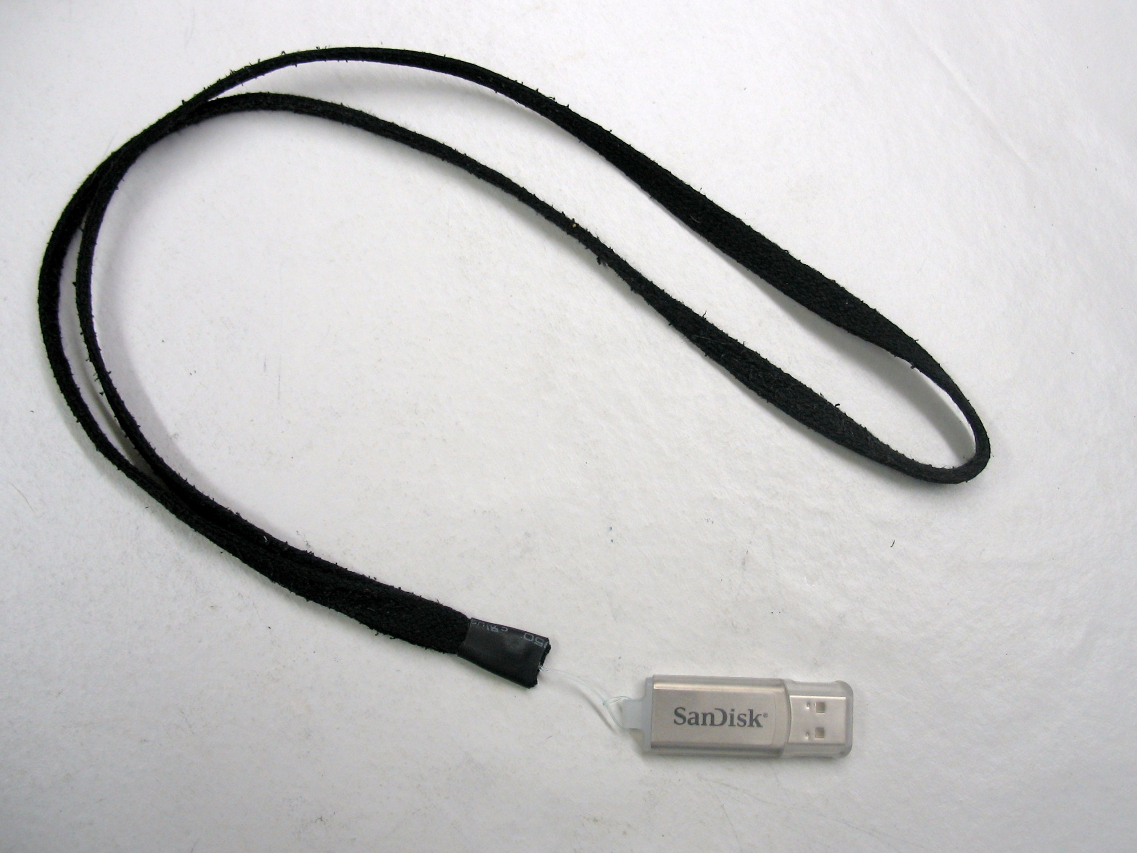 DIY Lanyard for USB Flash Drives
