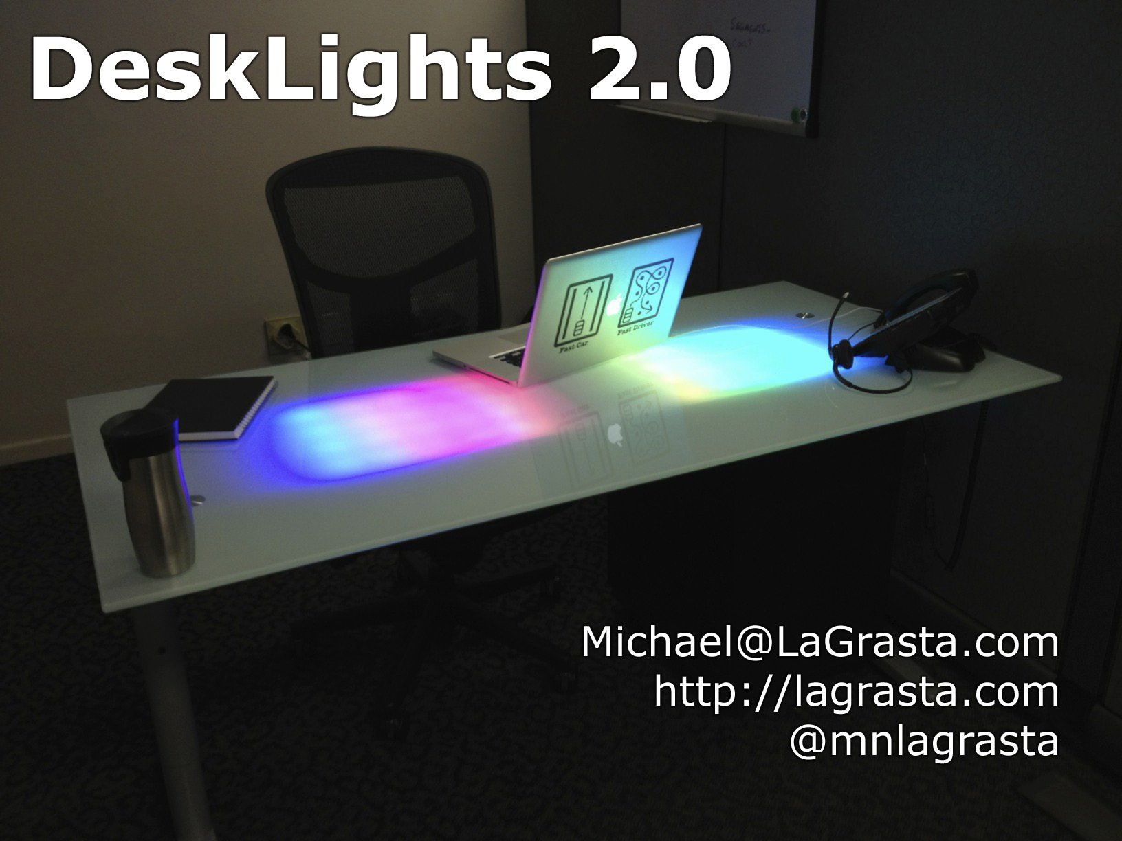 New Project: DeskLights 2.0