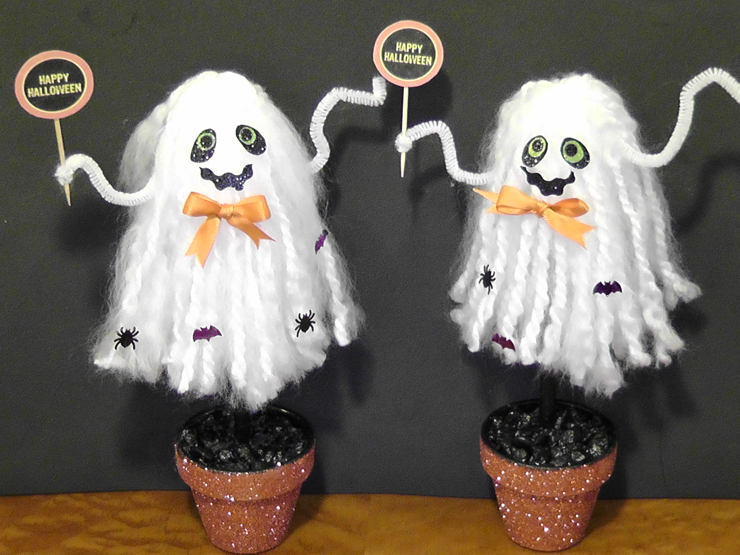 New Project: Scrunchy Ghosts