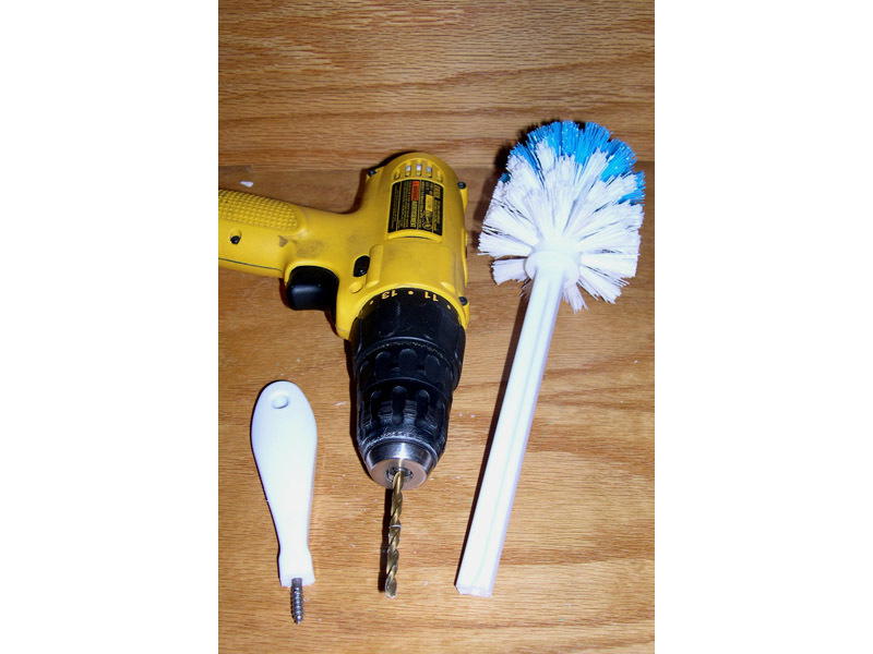 Self-Disinfecting Toilet Brush