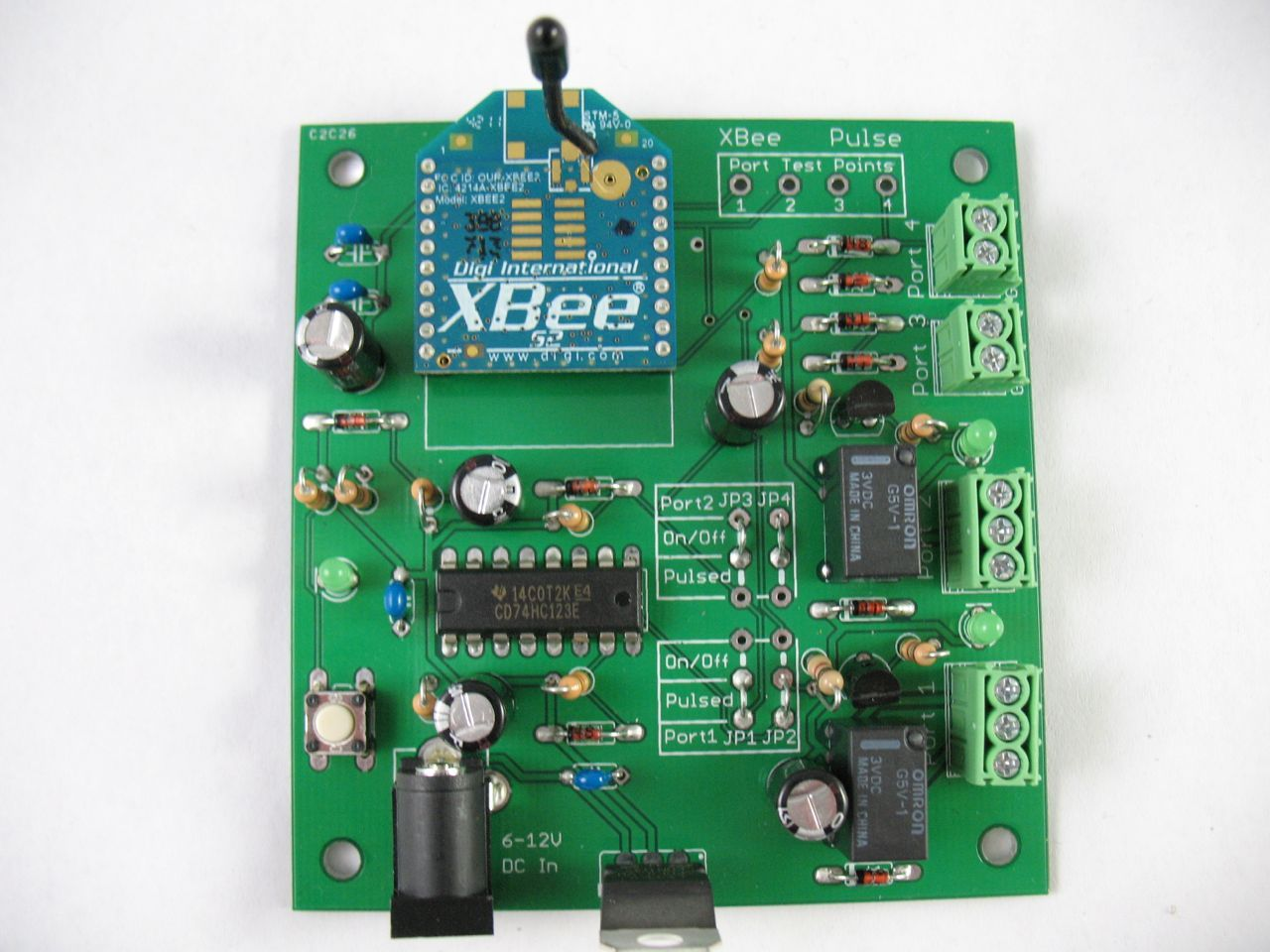 New Project: XBee Pulse I/O PCB Assembly Instructions