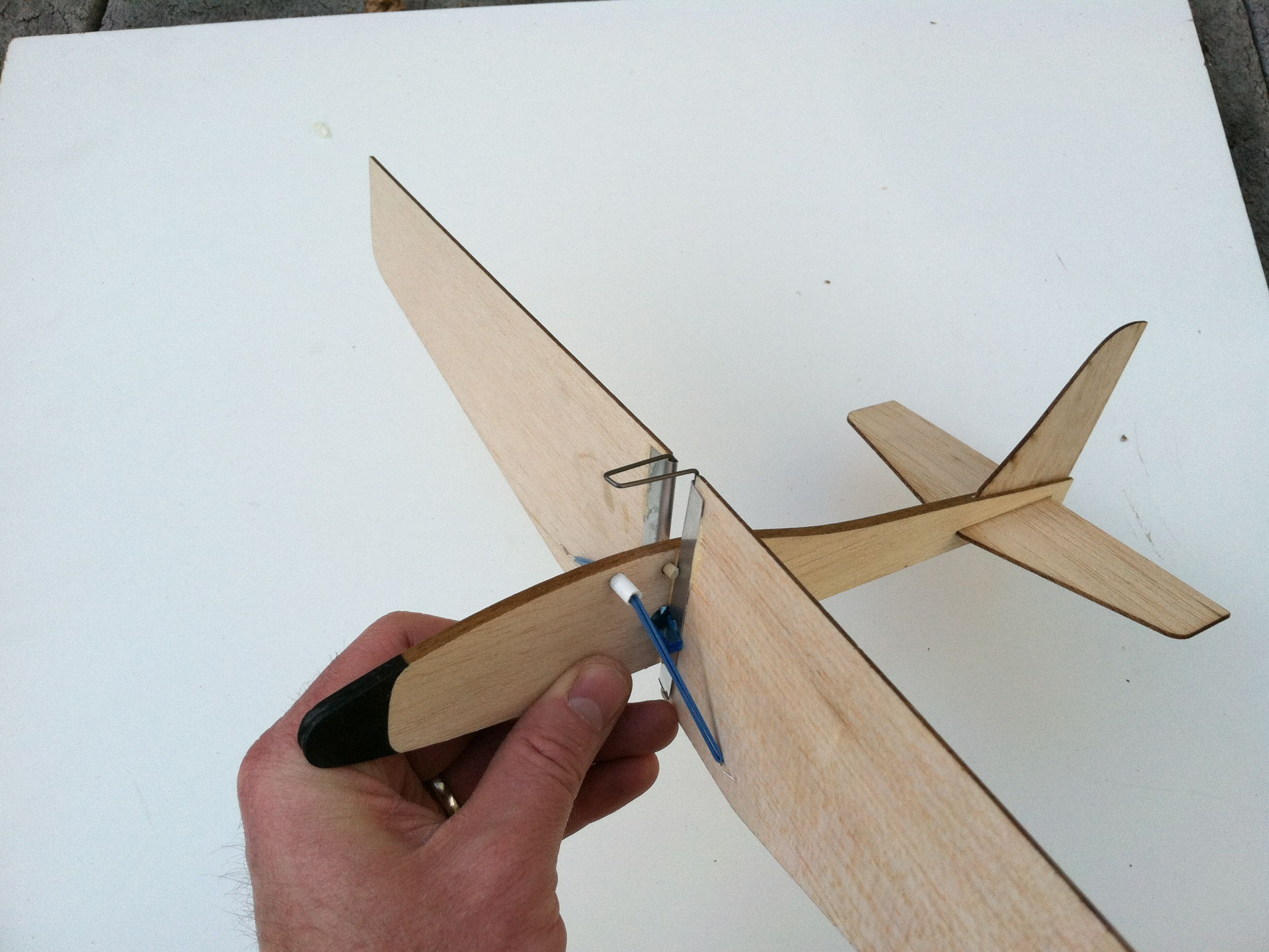 Folding-Wing Glider: Rockets Up … Glides Down!