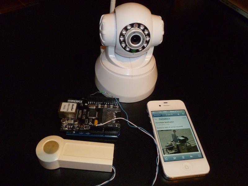 Notifying Doorbell withPushingBox
