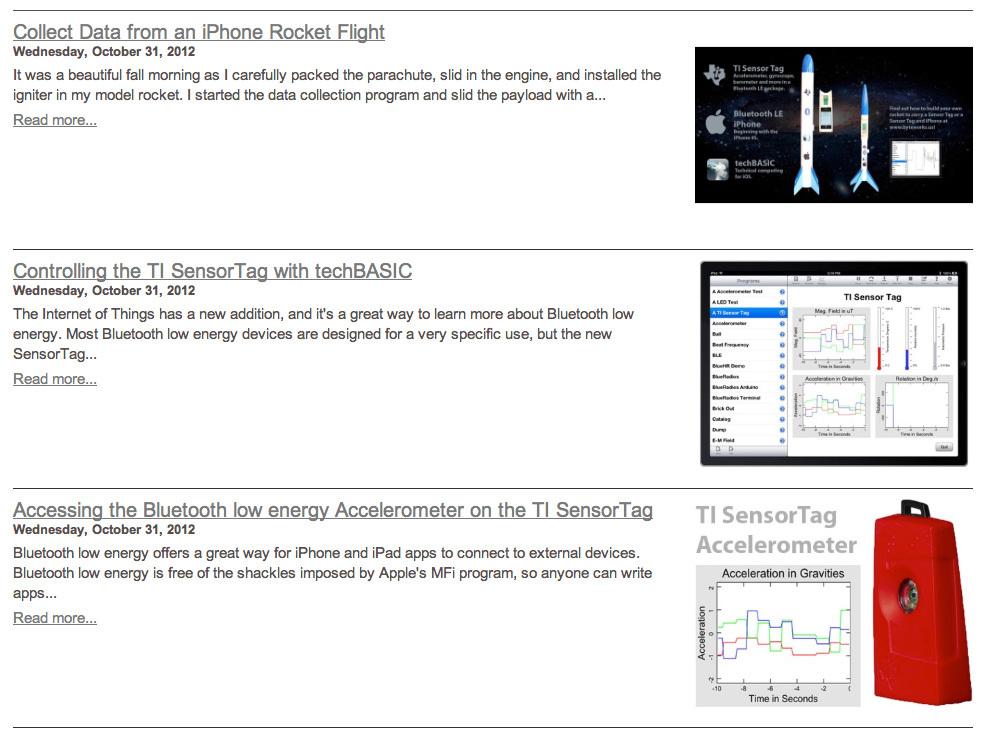 Analyze Data from iPhone RocketFlights