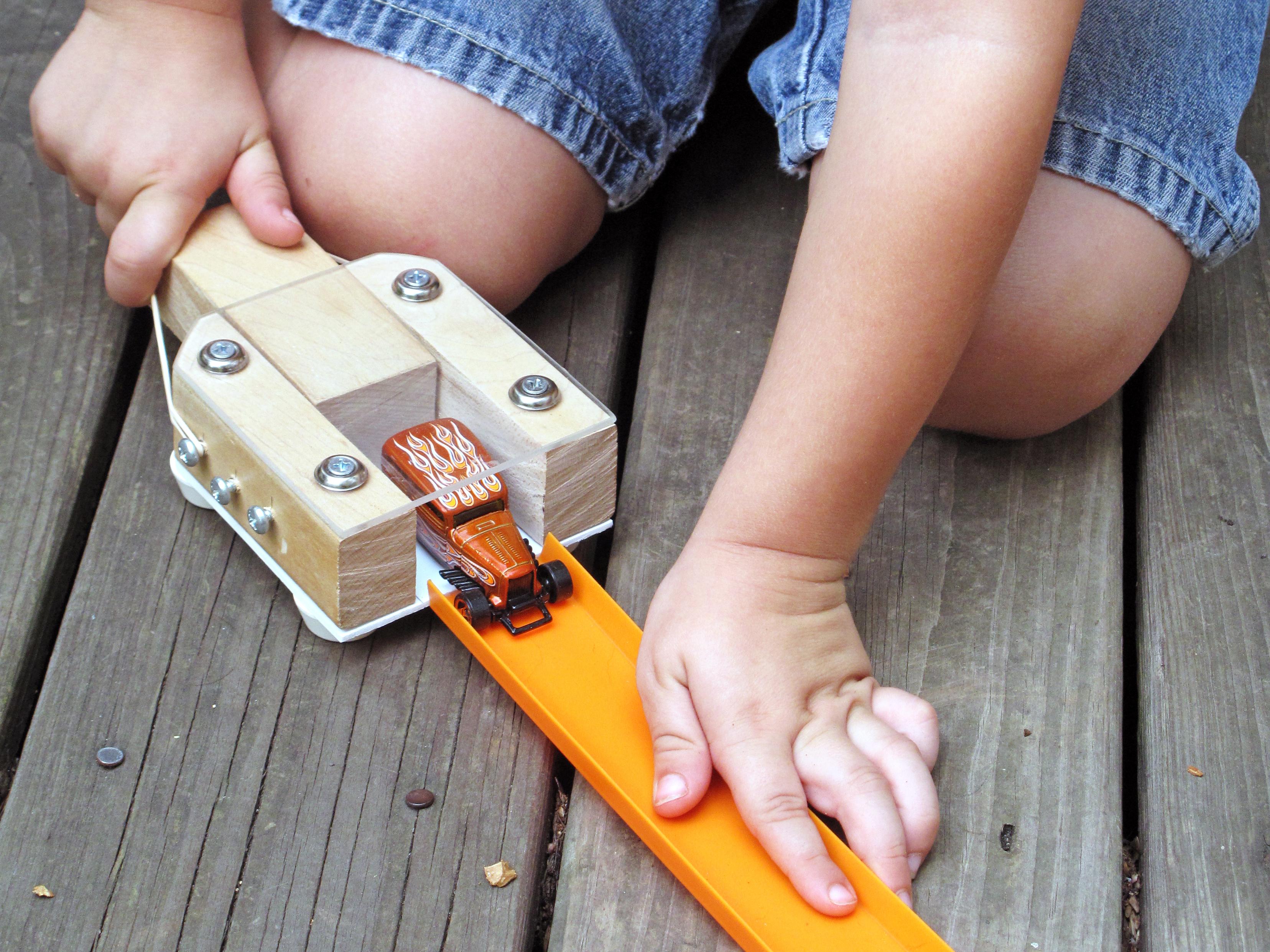 Toy Car Launcher