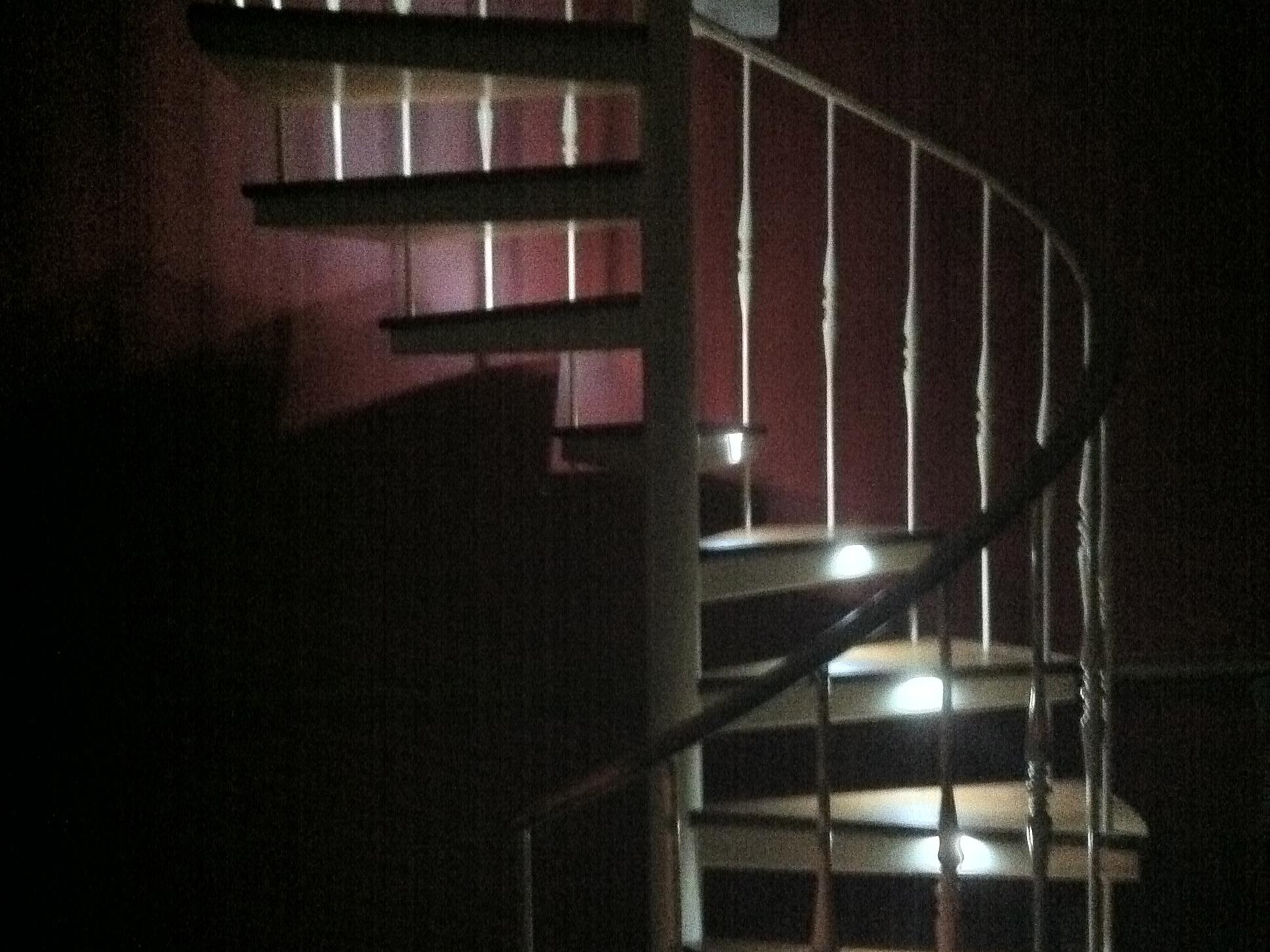 Custom LED Spiral StaircaseLighting