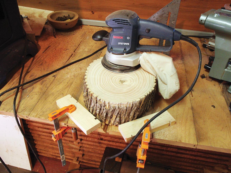 Rustic Wood SideTable