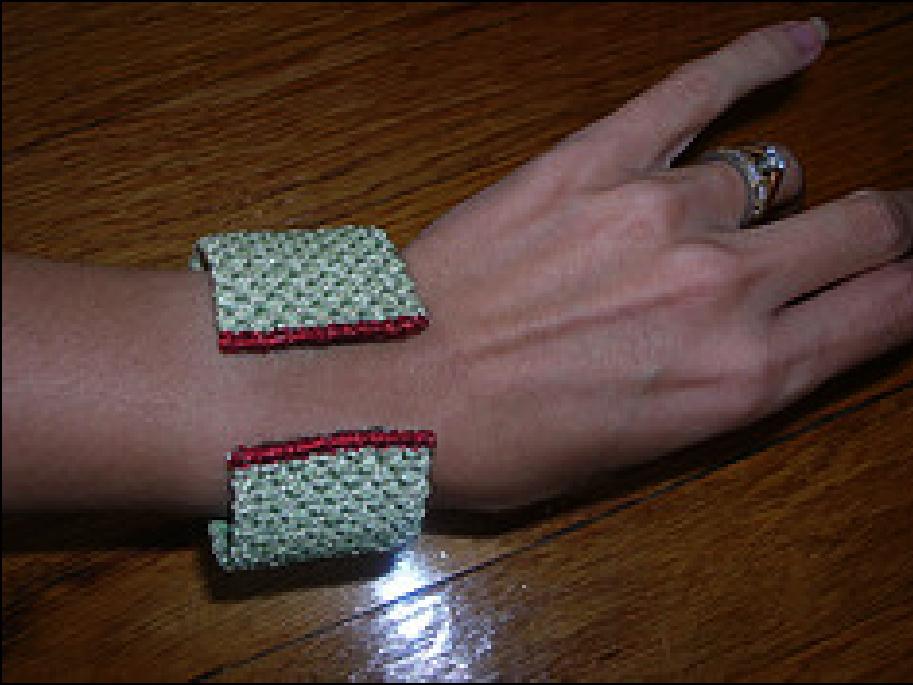 Needlepoint Wristcuffs