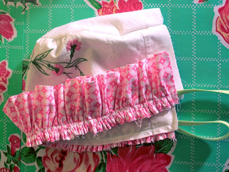 Bonnet from VintageLinens