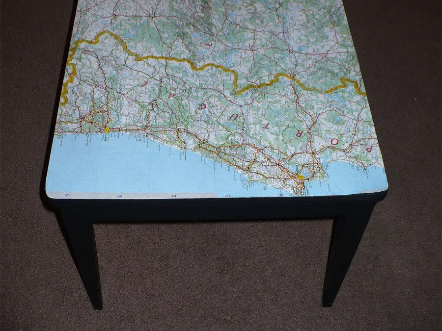 Decoupaged Table