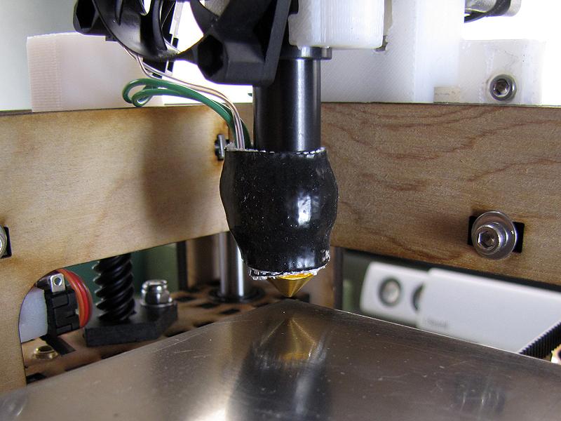 The MakerGear Mosaic 3D Printer  – Part VI: The BuildPlatform