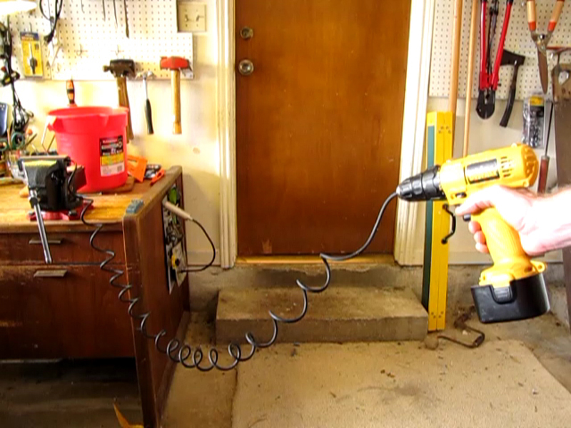 New Project: Cord Curling Part 2 – Reversing theCoil