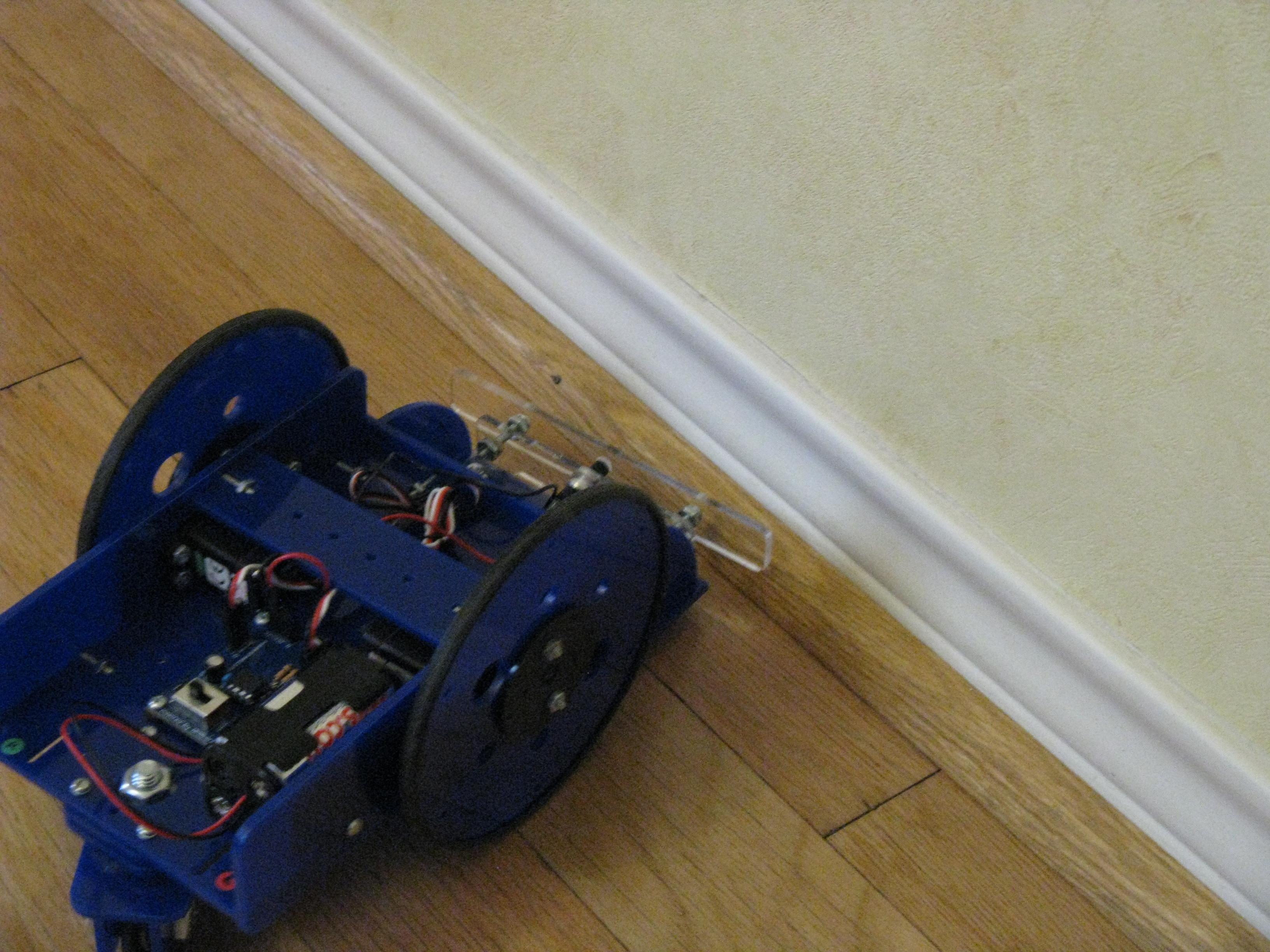 Bump Sensor for the TinyWanderer