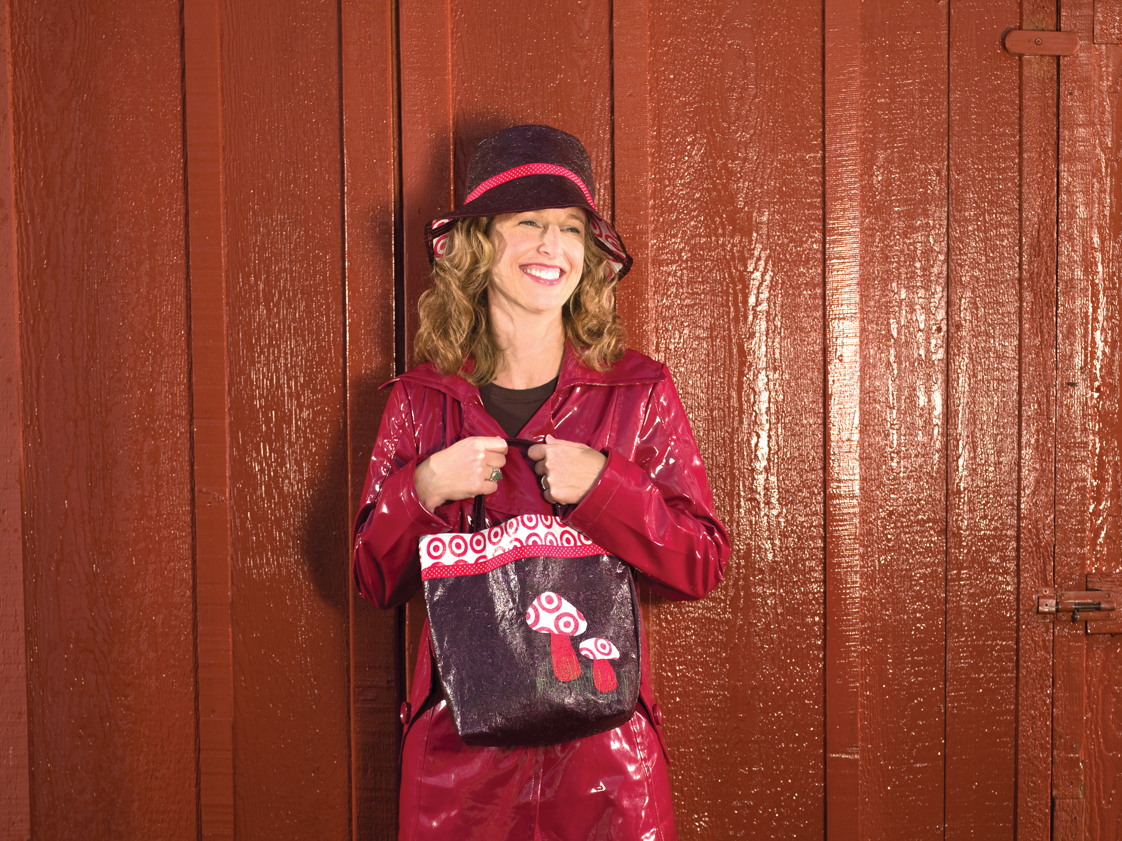 Toadstool Tote and Rain BucketHat