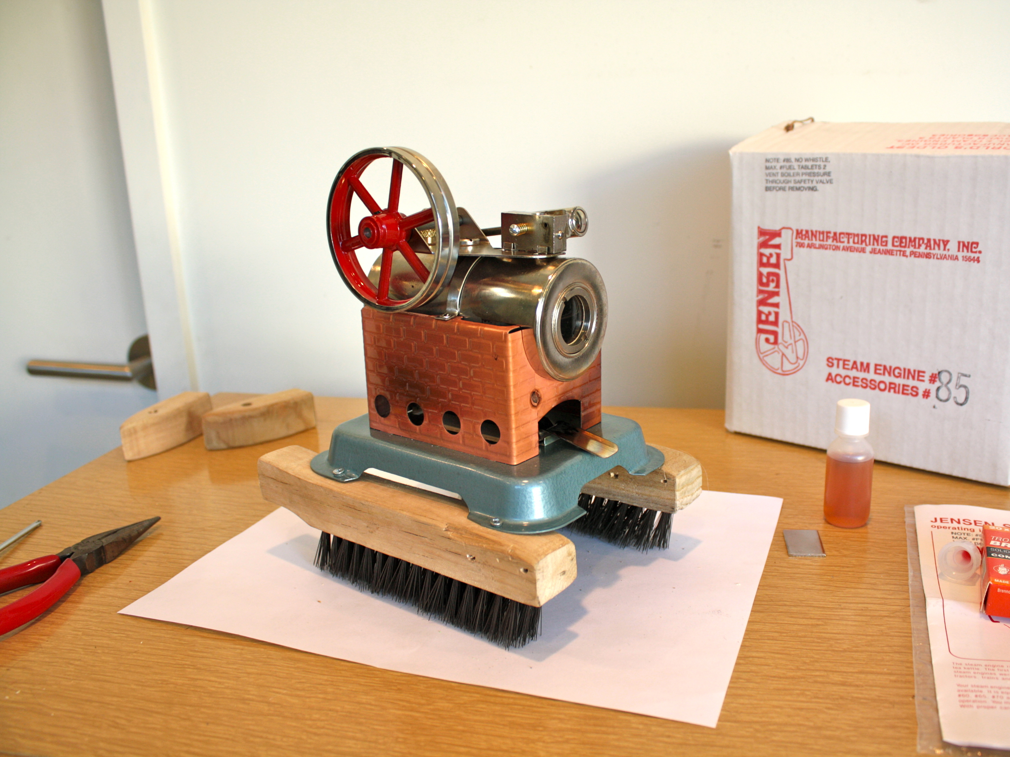 Steam-Powered BoilerBot