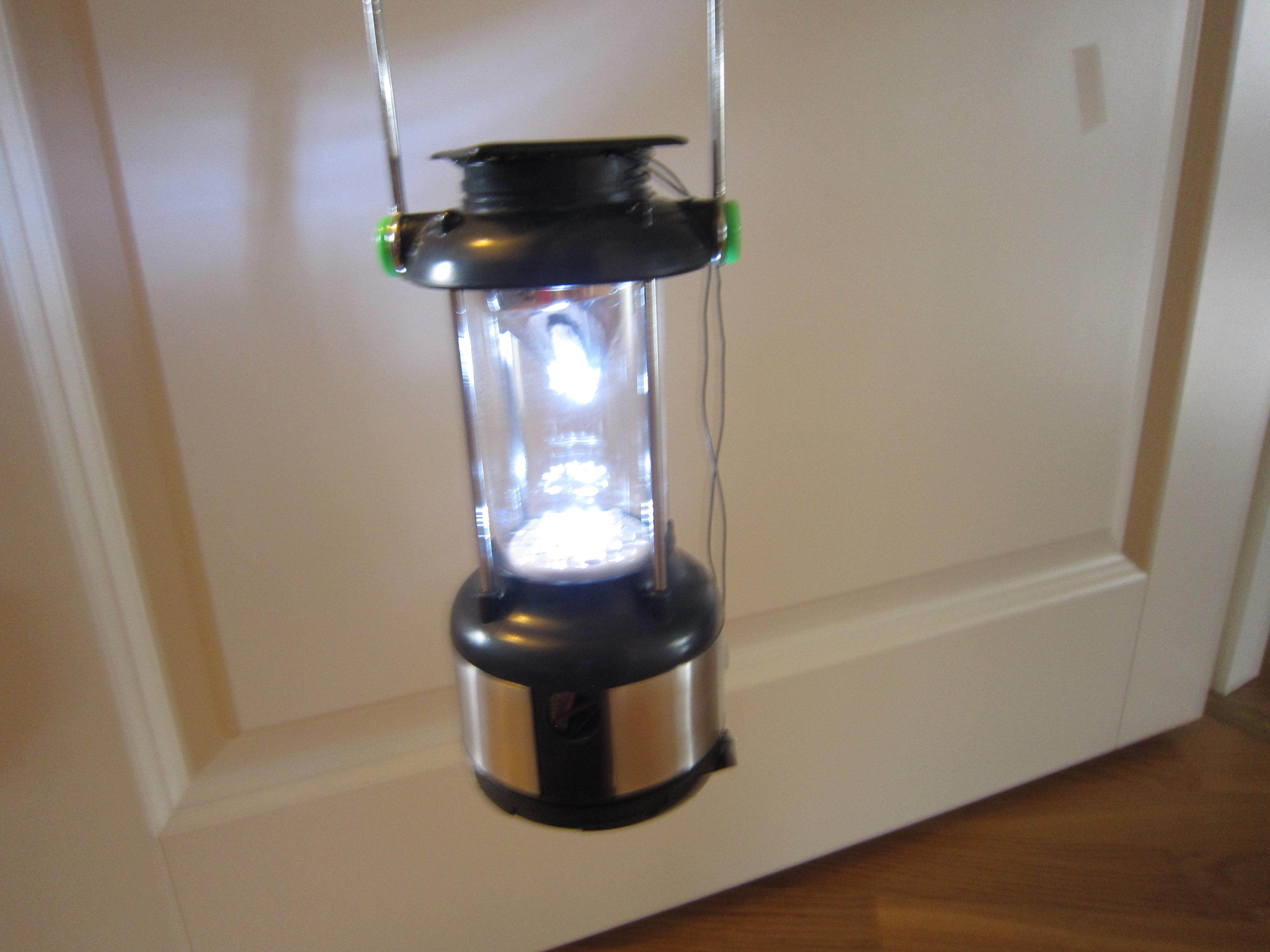 New Project: Solar Power Camp Light