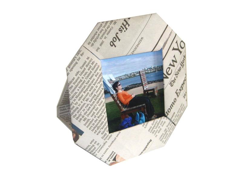 Paper Scrap PictureFrame