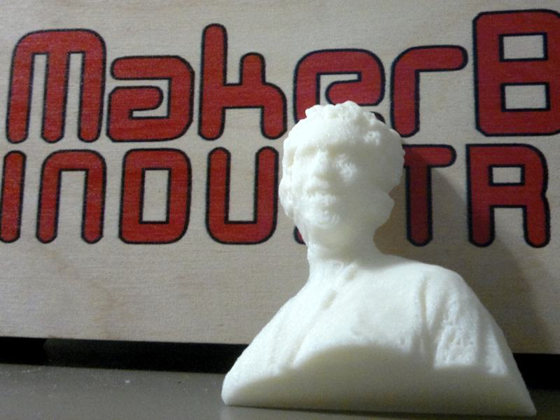 From Kinect to MakerBot