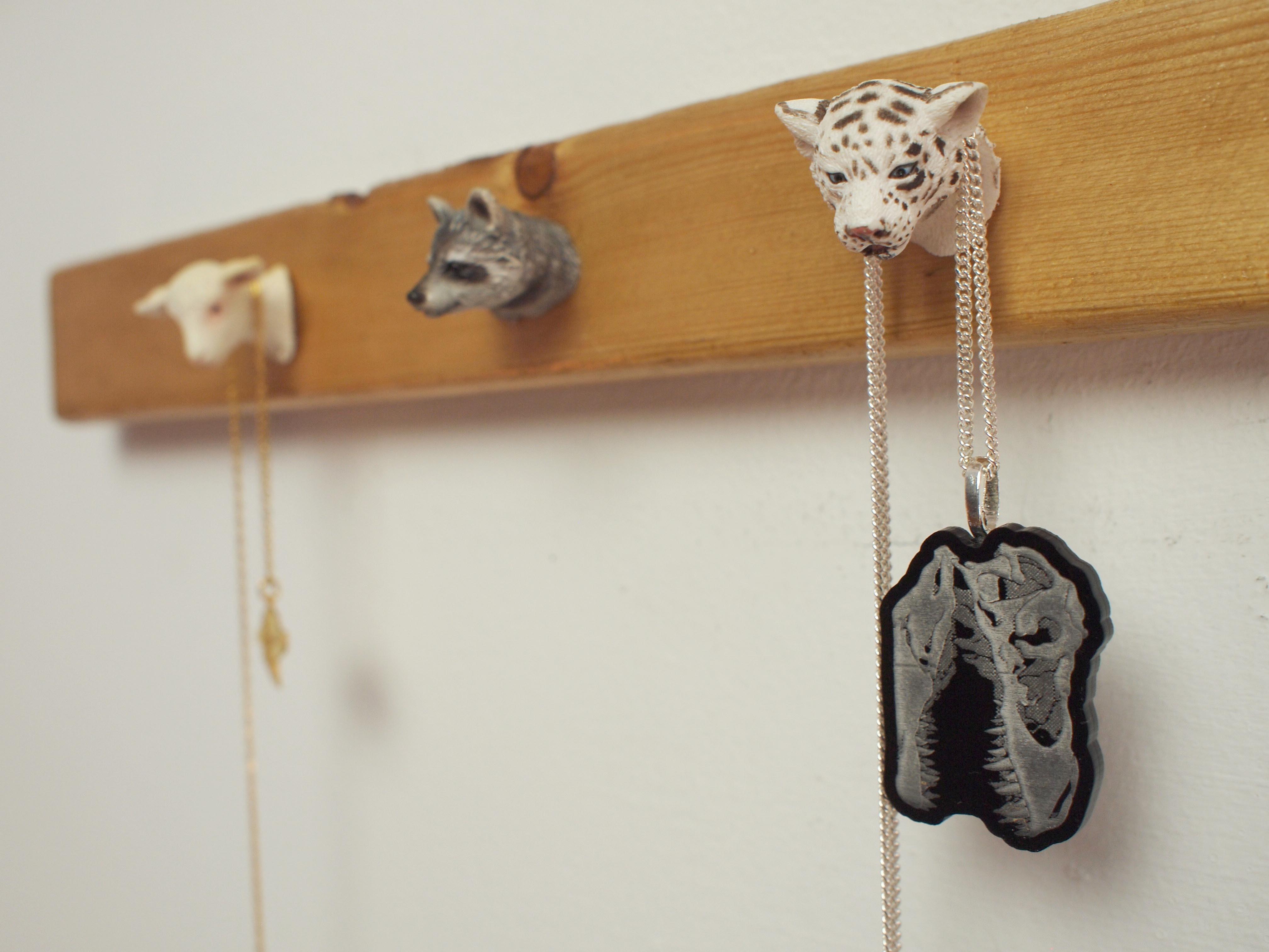 Animal Figurine JewelryRack
