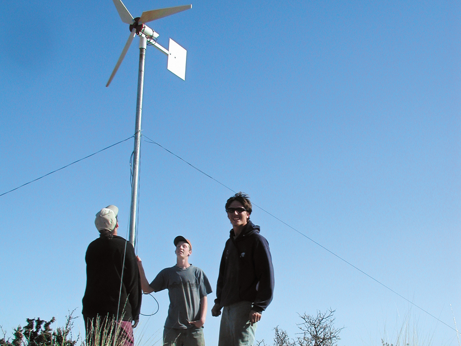 New Project: Wind Generator