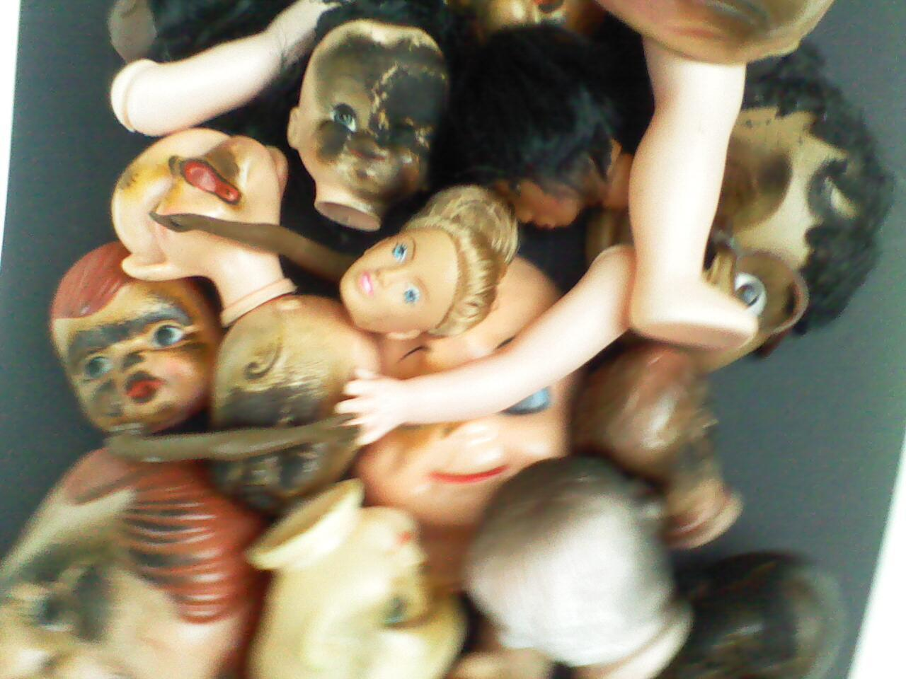New Project: WebHeads! Create Spiderweb-Trapped Doll Heads forHalloween
