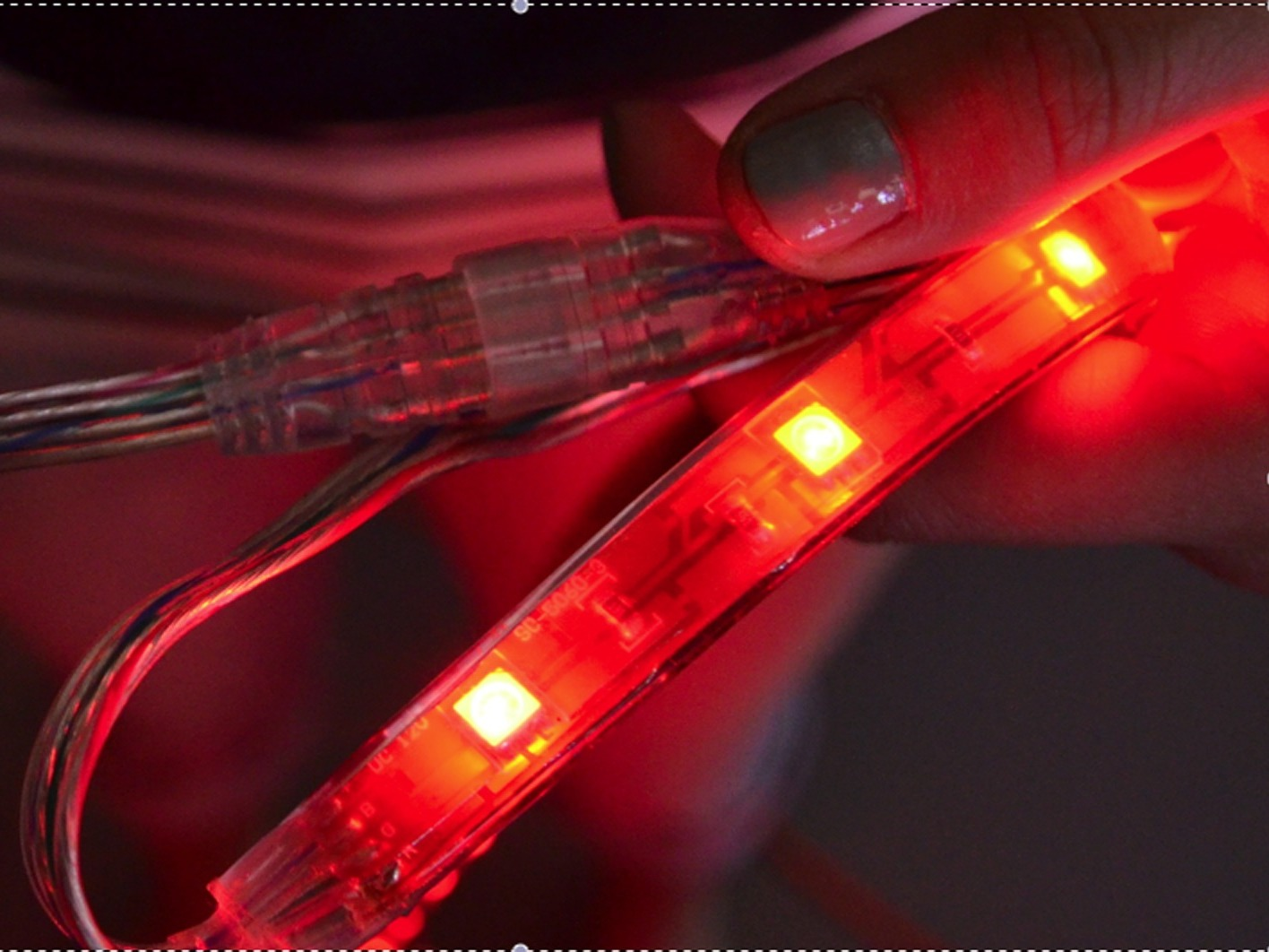 New Project: EZ-EL Wire Red VintageMotorcycle